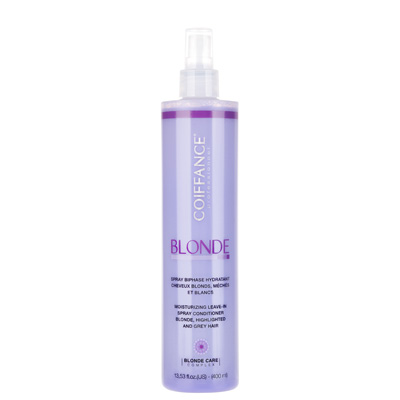 Blonde spray biphase hydratant